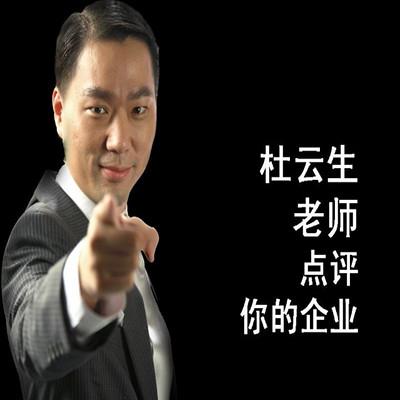 杜云生老师点评你的企业