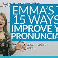 【eg酱英语发音】Learn English with Emma - 发音合集