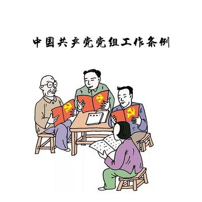 中国共产党党组工作条例