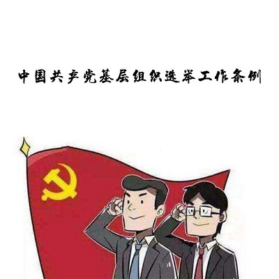 中国共产党基层组织选举工作条例