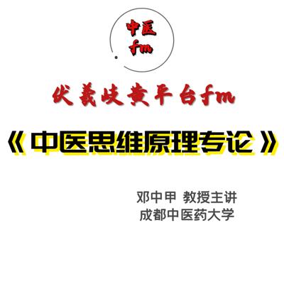 中医思维原理专论-教学课程