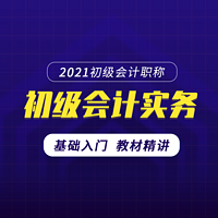 2021初级会计 2021初级会计实务