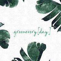 greenevery[day]bìchíbroadcast广播