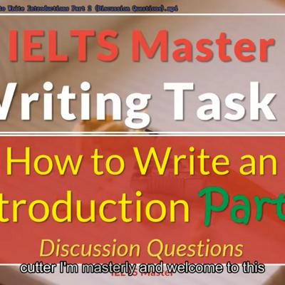【eg酱IELTS-Writing合集】IELTS Master Writing 合集