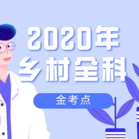 2020乡村全科执业助理医师考点精讲