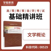 自考00529文学概论(一)【学程自考】